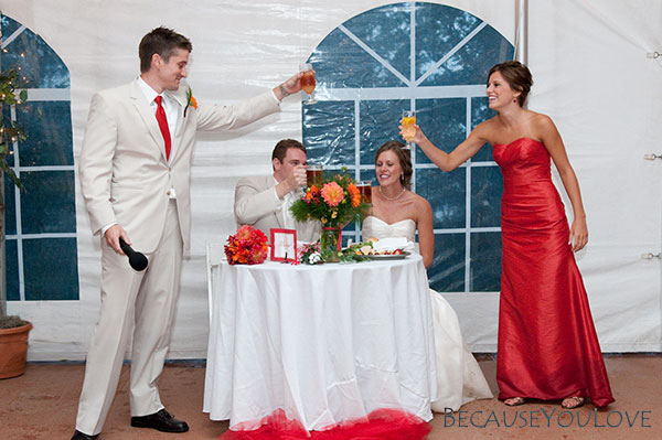 wedding toast