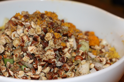orange hazelnut stuffing