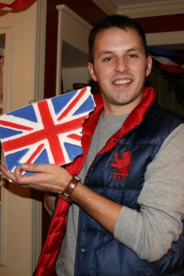 boy with british flag
