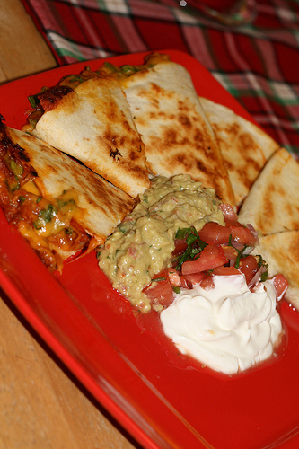 The Culinary Couple » Pulled Pork Quesadillas