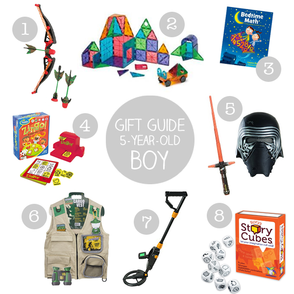 Christmas Gift Ideas For 5 Year Old: Holiday Gift Guide: Five-Year-Old Boy